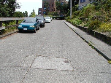 Street Improvements for 736 Bellevue Pl